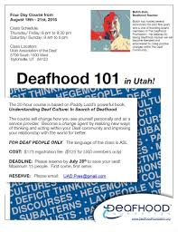 Utah Schools For The Deaf And The Blind July 2016 Issue Utah Association Of The Deaf