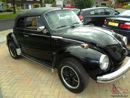 beetle volkswagen black 1975 volkswagen beetle black karmann cabrio
