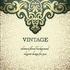 vintage ornate ornaments pattern background 04 vector
