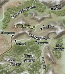 Dead Frontier Map Luruar Forgotten Realms Wiki Fandom Powered By Wikia