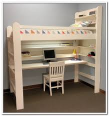 storage loft bed with desk loft bed with storage and desk home design ideas