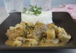 cuisine blanquette de veau blanquette de veau express courgettes et chignons croquons la