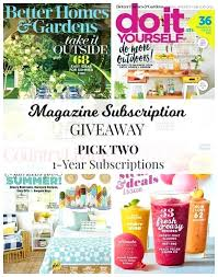 country living subscription country living subscribe magazine subscriptions giveaway better