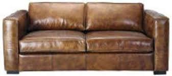 canapé cuir vieilli marron canape cuir marron 3 places canape cuir convertible places canapac