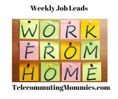 Graphic Design Works At Home Weekly Work At Home Jobs Telecommuting Mommies