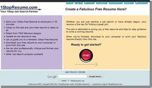 Create A Free Online Resume by 5 Free Online Resume Builder
