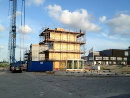 Reihenhaus Kostengünstiger Holzbau Reihenhaus In Amsterdam Detail