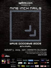 mcsflashback the wave goodbye tour nine inch nails live in