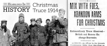 100th anniversary of the christmas truce december 24 u201325 1914