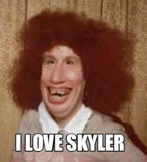 Skyler Meme - meme maker i love skyler