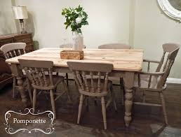farmhouse dining set by pomponette annie sloan