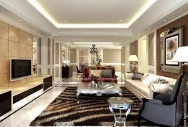 Living Room Design Television Living Room White Flooring Lamp Gray Chairs Television Stunning