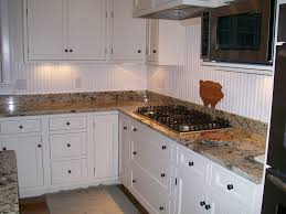 kitchen home design beadboard backsplash wood countertop small