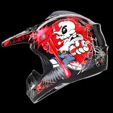 motocross helmets kids motocross helmet tagg graphic hd204