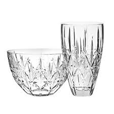 Waterford Vases On Sale Amazon Com Marquis By Waterford Sparkle 9 Inch Vase Home U0026 Kitchen