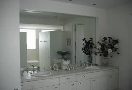 Frameless Bathroom Mirror Large Large Bathroom Mirror Frameless My Web Value