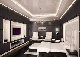 Ways To Pulling Periwinkle Into Black And White Bedroom - Black and white bedroom designs ideas