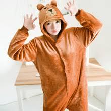 Brown Bear Halloween Costume Popular Onesie Halloween Costumes Bear Buy Cheap Onesie Halloween