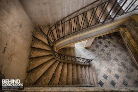 Looking Down Stairs by Usine Cellatex Givet France Urbex Behind Closed Doors Urban