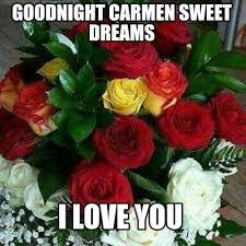 Memes Carmen - meme maker goodnight carmen sweet dreams i love you