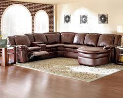 Leather Curved Sectional Sofa by Furniture Sectional Sofa With Chaise And Recliner Leather