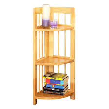 Folding Bookshelves - winsome wood folding bookshelf wall shelf wooden corner unit