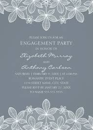 unique lace engagement party invitations elegant country cards