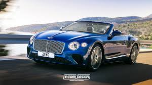 bentley gtc bentley continental gtc render seems just about right