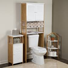 bathroom cabinets around toilet storage over toilet shelf unit