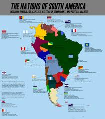 South America Map With Capitals by Uruguay Map Blank Political Uruguay Map With Cities South America