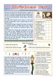 Charles Worksheet Answer Key A Carol Simplified Version Key Included Worksheet