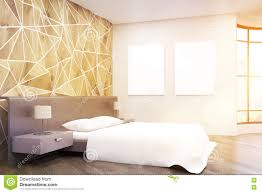 side view of sunlit bedroom stock illustration image 78497682