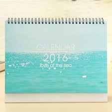 The Office Desk Calendar 2016 Desk Calendar Of The Sea Daily Planner Book Home Office