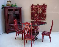 Barbie Dining Room Set Fashion Dolls At Van U0027s Doll Treasures I U0027m Seeing Red Check Out
