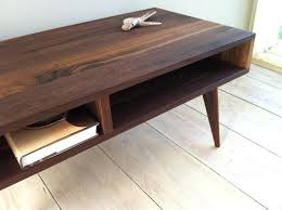 Rustic Walnut Coffee Table Black Walnut Coffee Table Custom Furniture Designer Coffee Table