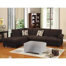 chocolate sectional sofa luxurious and plush 2 corduroy sectional sofa chocolate