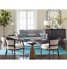 Turquoise Living Room Chair by Kinney French Modern Classic White Espresso Wood Living Room Chair