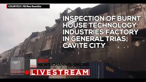 inspection of burnt house technology industries factory in general