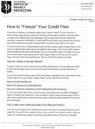 freezing your ars and ida credit reports