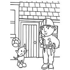 10 free printable bob builder coloring pages