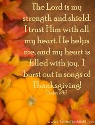 thanksgiving harvest with bible verse 1 chronicles 16 34 well