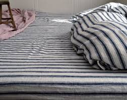 Grey Linen Bedding - vintage inspired pure linen designs by houseofbalticlinen on etsy