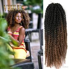 marley hair extensions afro kinky curly twist 20inch marley braid hair extension