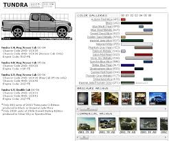 toyota tundra touchup paint codes image galleries brochure and