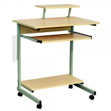 Home Office Computer Furniture by Homegear Compact Home Office Computer Desk On Wheels Maple Just