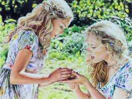 colour pencil drawing scene fr cinderella chaseroflight