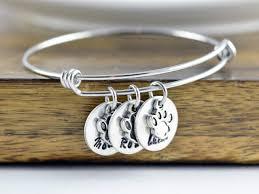 personalized bangle dog bracelet personalized bangle bracelet paw print bracelet