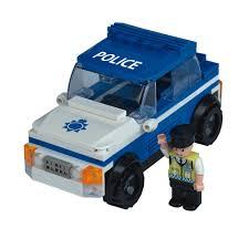 police car toy wilko blox police car small set at wilko com