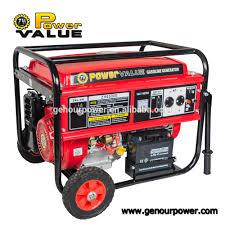 6 5kva 15hp gasoline generator manual with 190f engine for sale