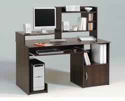 furniture large modern computer corner desk with awesome lighting